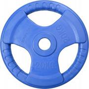 Obciążenie SPORTOP FI 51 Niebieski (20 kg) SPORTOP
