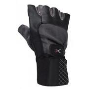 Rękawice fitness SPOKEY Faneg (rozmiar M) Czarny SPOKEY