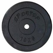 Obciążenie SPORTOP Fi28 (10 kg) SPORTOP