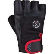 Rękawice fitness SPOKEY Fiks (rozmiar L) Czarno-czerwony SPOKEY