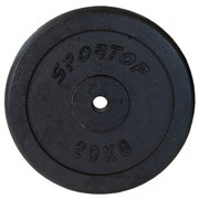 Obciążenie SPORTOP Fi28 (20 kg) SPORTOP