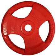 Obciążenie SPORTOP FI 51 Czerwony (25 kg) SPORTOP