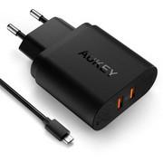 Aukey Ładowarka sieciowa PA-T16 2x USB