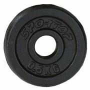Obciążenie SPORTOP Fi28 (0.5 kg) SPORTOP