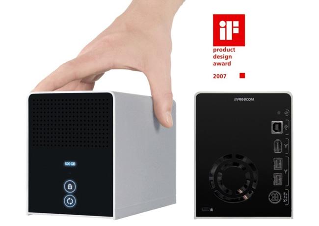 Dysk zewnętrzny FreeCom External 1TB Data Tank USB 2.0 & FireWire 400&800 27456