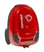 Concept VP8033 Odkurzacz workowy czerwony 700 W