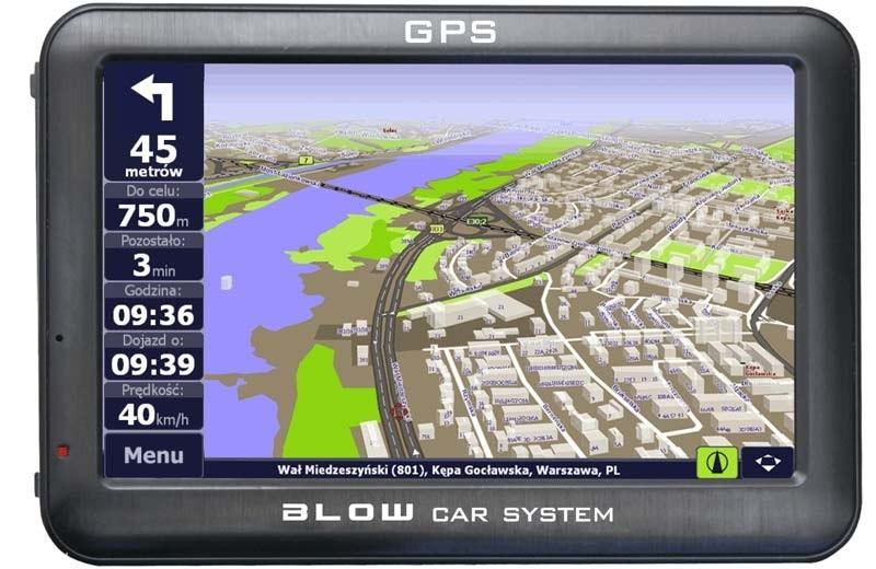 Nawigacja samochodowa Blow GPS50Rbt