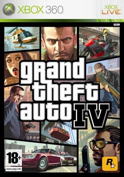 Gra Xbox 360 Gta 4