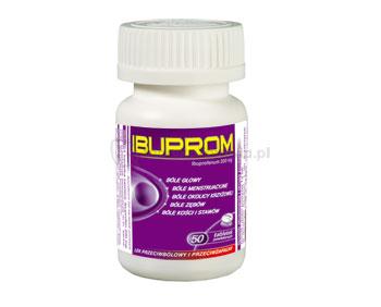 Ibuprom 200mg 50 tabletek Us Pharmacia