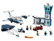 Klocki Lego City 60210, Baza policji powietrznej