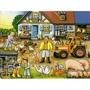 puzzle RAVEN 30-48 ELEMENTÓW NA FARMIE PR-066810