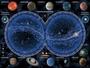 puzzle RAVEN 1500 ELEMENTÓW NIEBIAŃSKA MAPA PR-163731