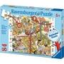 puzzle RAVEN 84 ELEMENTÓW NA BUDOWIE