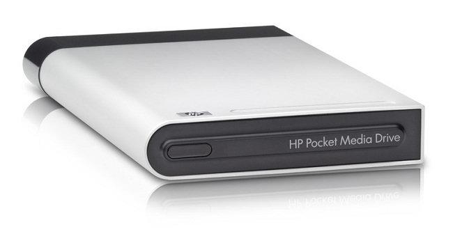 Dysk zewnętrzny HP Pocket Media Drive 120 GB USB2.0 RF244AA
