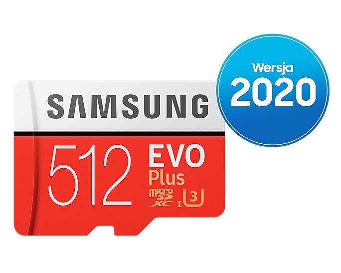 Karta pamięci MicroSD Samsung EVO Plus 512GB