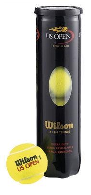 Piłki Wilson US Open (4 sztuki)