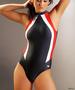 Jednoczęściowy kostium kąpielowy gWinner - OLIVIA